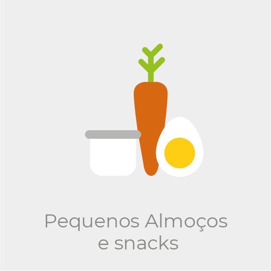 Pequenos almoços e snacks